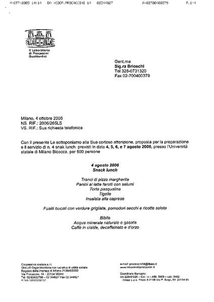File preventivo catering procaccini wikimedia italia for Fac simile preventivo rifacimento bagno