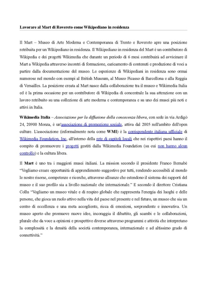 File:Allegato A - Wikipediano in residenza - Call.pdf
